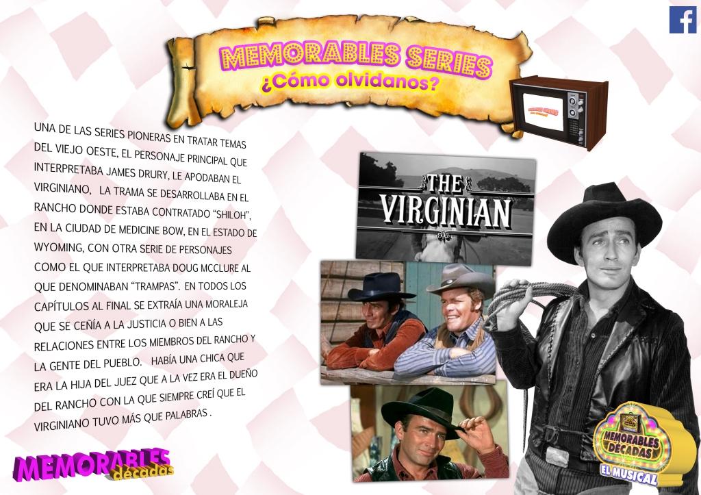 Hoy nos subimos al tren de la nostalgia y viajamos hasta 1962, año de estreno de El Virginiano.